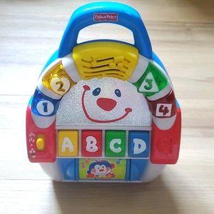 Fisher Price baby toy slot machine